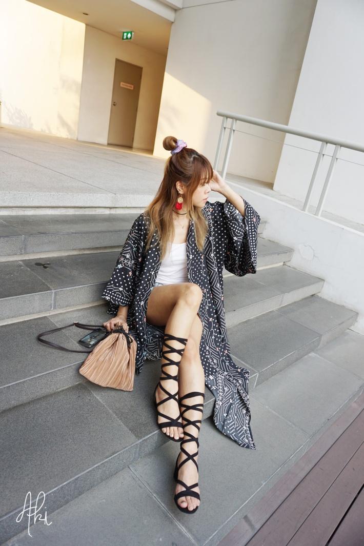 Kimono mit and match